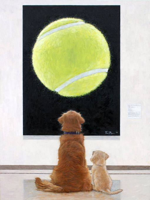 Puppy Love At the Museum